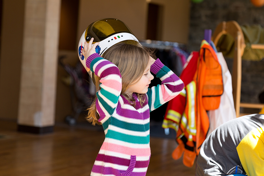Be an Astronaut at the Play Stand